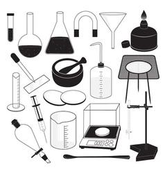 Science Laboratory Equipment vector