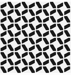 seamless geometric pattern modern ornament vector image