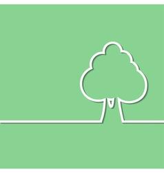 tree green vector image