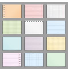 Colored Paper vector image