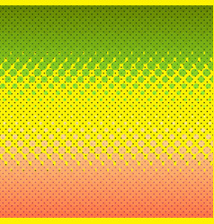 colorful halftone background dot colorful vector image vector image