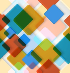 Abstract seamless background of different color vector image vector image