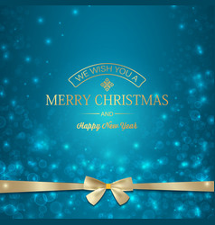 festive merry christmas template vector image vector image