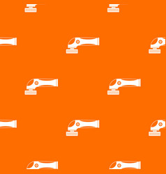 grinder machine pattern seamless vector image vector image