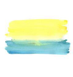 abstract watercolor painting brush background vector image