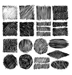 backgrounds and textures drawn by pens markers vector image