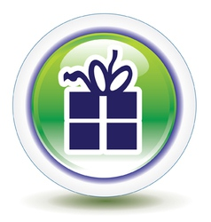 Free gift icon vector
