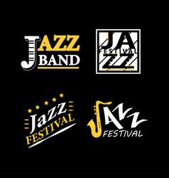 jazz club musical live festival sax vector image