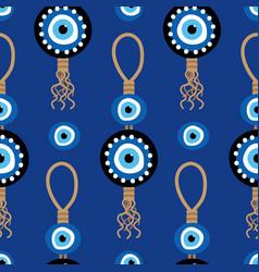 Nazar amulet evil eye protection signs pattern vector