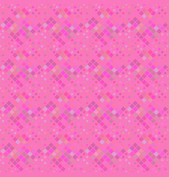 Pink abstract diagonal square pattern background vector