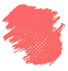 abstract background dry brush strokes with rough vector image vector image