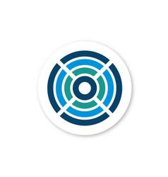 circe wireless logo vector image