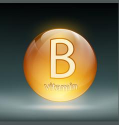 icon vitamin vector image vector image