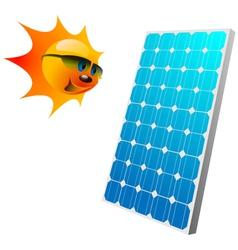 solar panel vector image vector image
