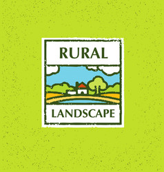 Agriculture and farming agribusiness rural vector