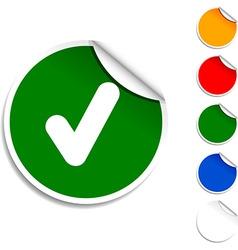 Check icon vector