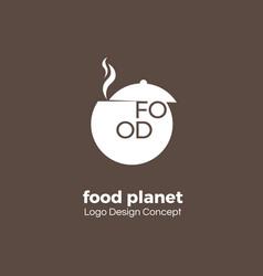food point logo design template creative symbol vector image