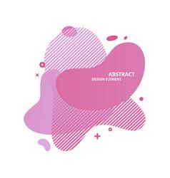 gradient shape banner vector image