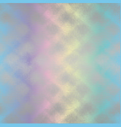 holographic ink bleed seamless pattern in rainbow vector image