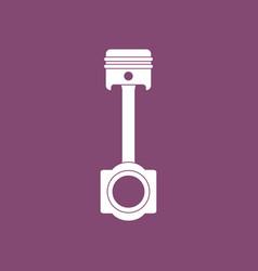 Icon car piston vector