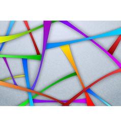 Layered template - abstract background vector image