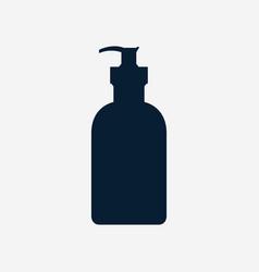 soap bottle icon vector image