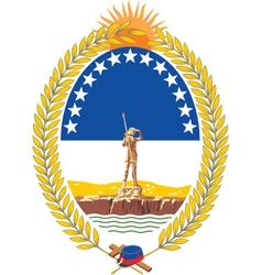 Rio Negro Province vector image