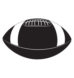 ball for Rugby vector image