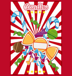 candy shop vector image vector image