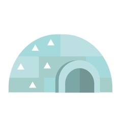 Eskimo house vector image