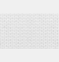 brick wall white bricks wall texture background vector image
