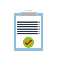 Check list delivery shipping icon graphic vector