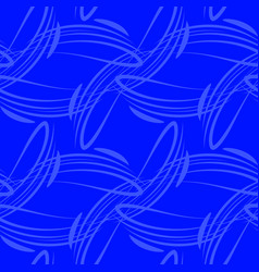 marine pattern from deep lines for vector image