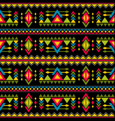 navajo weaving fashion seamless pattern vector image