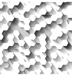 White technological abstrac pattern vector image