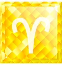 Zodiac Aries vector