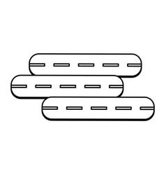 highway street symbol vector image