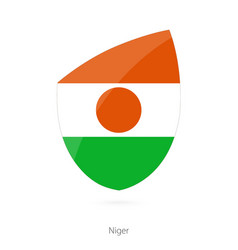 Flag niger in style rugicon vector