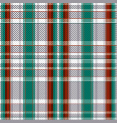 tartan seamless texture in various colors vector image