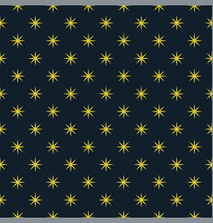 the abstract pattern of the night sky vector image