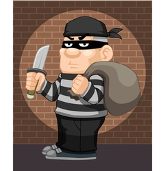 Thief vector image