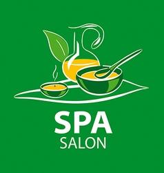 logo accessories spa salon vector image