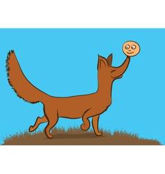 fox2 vector image