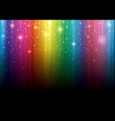 glittering colorful background vector image vector image