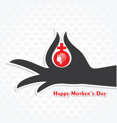 mothers day stock image and symbols vector image