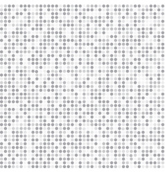 Abstract stripe gray and white random dots vector