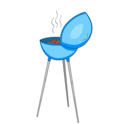 barbecue or barbeque informally bbq or barby vector image