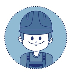 Character builder in uniform vector