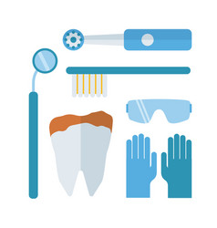 dentist stomatology equipment vector image