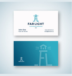 far light abstract sign or logo and vector image